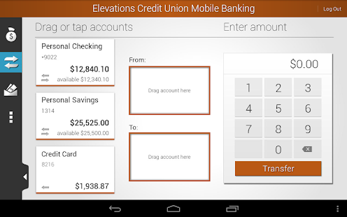 Elevations Credit Union Mobile - screenshot thumbnail