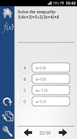 Screenshot of Pocket GRE Math