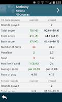 Screenshot of Golf GPS Rangefinder: Golf Pad