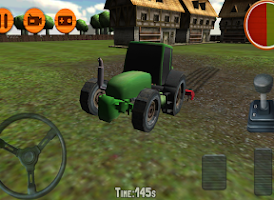 Screenshot of 3D Tractor Simulator Farm Game