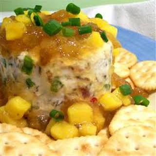 Mango Chutney Cheese Ball.