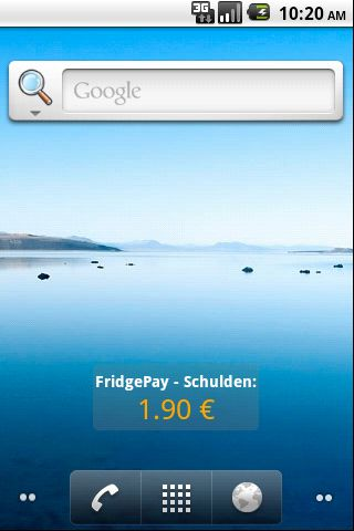FridgePay- screenshot