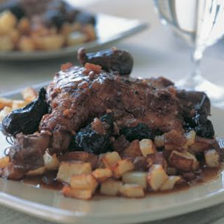 Braised Duck with Figs & Port