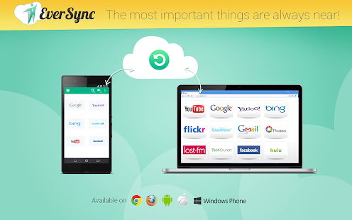 Eversync - Bookmarks and Dials - Android Apps on Google Play