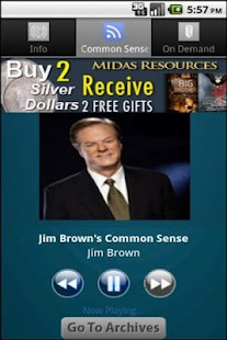 Jim Brown's Common Sense - screenshot thumbnail