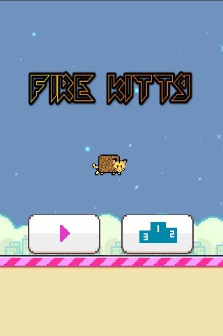 Flappy Fire Kitty