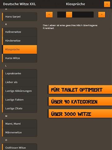 android Deutsche Witze XXL Screenshot 4