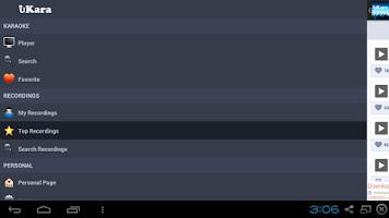 Screenshot of uKara-Free Karaoke