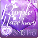 Purple Haze Free GO SMS Theme icon