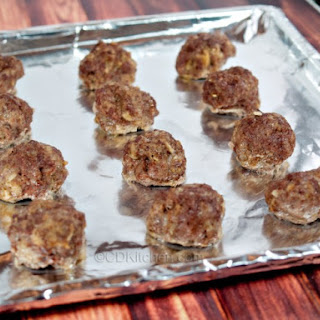 Make Ahead and Freeze Oven Meatballs