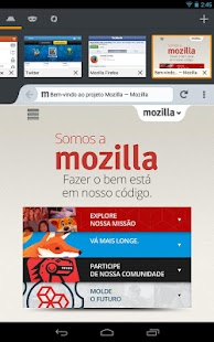 Firefox navegador web - screenshot thumbnail