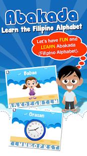 Abakada - Tagalog Alphabet - screenshot thumbnail