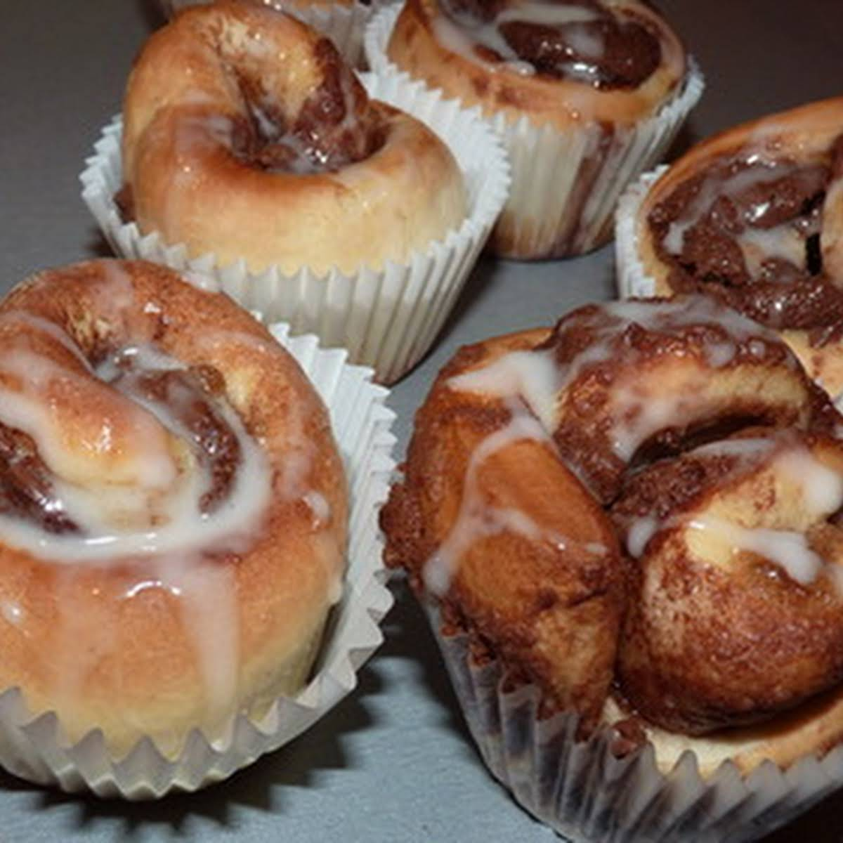 Ultimate Nutella cinnamon roll muffins - from scratch!