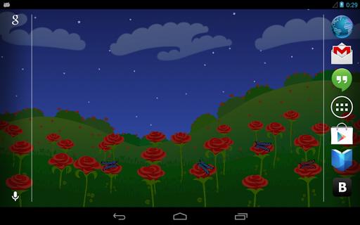 Flower Field Roses HD