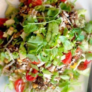 Cilantro Lime Rice Burrito Bowls