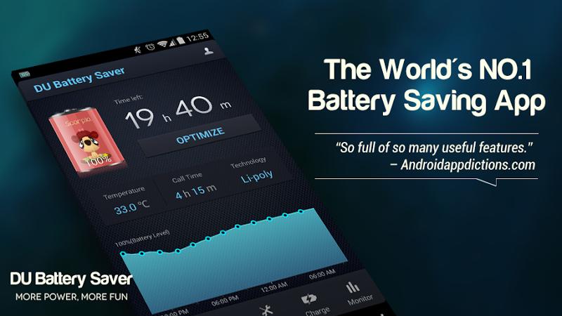 DU Battery Saver PRO & Widgets Screenshot