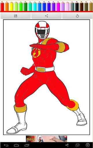Coloring Book Power Ranger Z