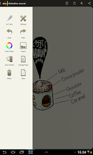 Moleskine Journal- screenshot thumbnail