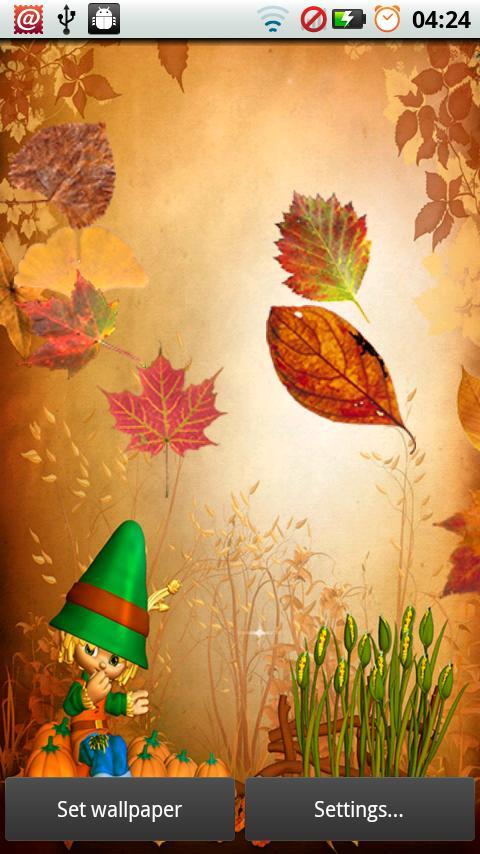 Fall Leaves for Thanksgiving screenshot #5