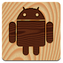 Wood (launcher theme) logo