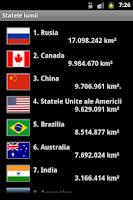 Screenshot of Statele lumii