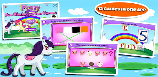 Unveil a magical experience for kindergarten learning with your pony friend!