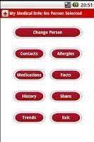 Screenshot of My Medical Info