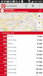 London Live Bus Countdown screenshot 5