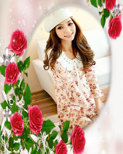 Flower Frame Love