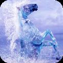 Aquatic horse LWP icon