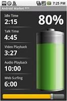 Screenshot of BatteryTime: Classic Pro