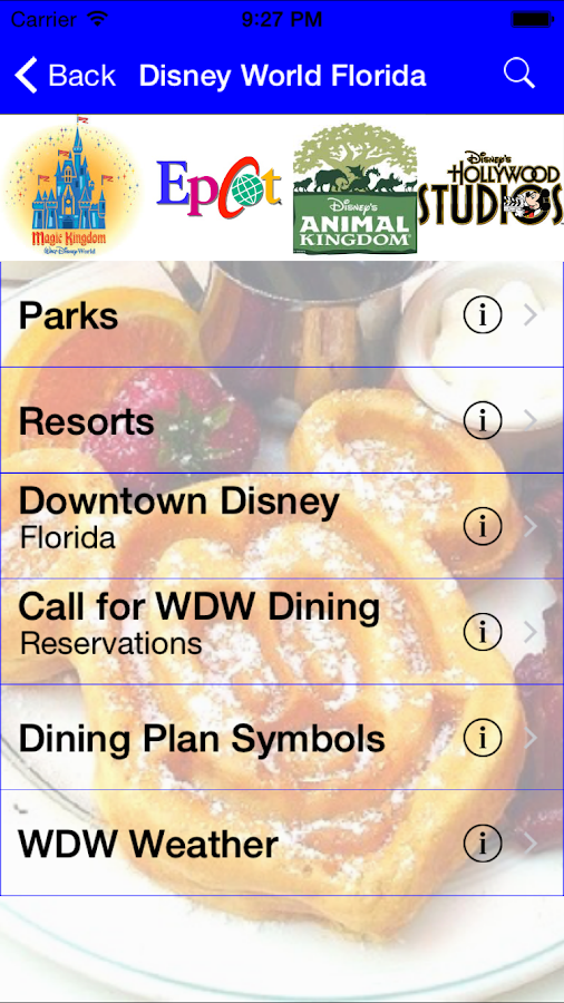 Gluten Free Disney Dining- screenshot