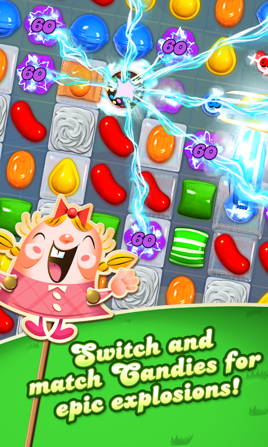 Candy crush ssaga / Plays in vegas