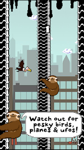 Slippy Sloth - Climbing Game- screenshot thumbnail