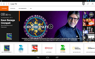 Screenshot of DishTV - LIVE TV MOVIES VIDEOS