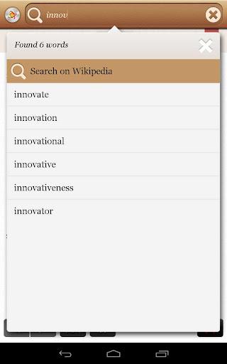 玩免費書籍APP|下載Dictionary Offline Dictionary app不用錢|硬是要APP
