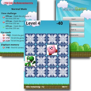 Memory Game (MemoGame) for PC and MAC