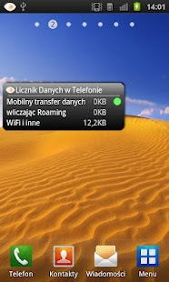 Licznik Danych w Telefonie- screenshot thumbnail