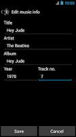 Screenshot of Lyrics Music Extension