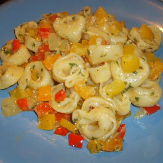 Three-Cheese Tortellini And Peppers