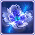 Shining Flowers Live Wallpaper icon