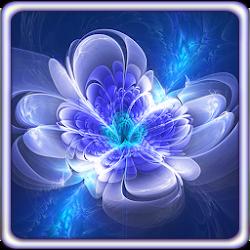 Shining Flowers Live Wallpaper