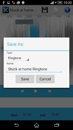 MP3 Cutter Ringtone Maker Free 5 screenshot 44678