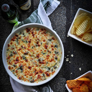 Irresistible Baked 3 Cheese Spinach and Artichoke Dip