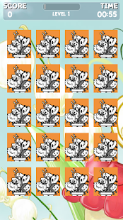 Cute Cat Memory Game - screenshot thumbnail