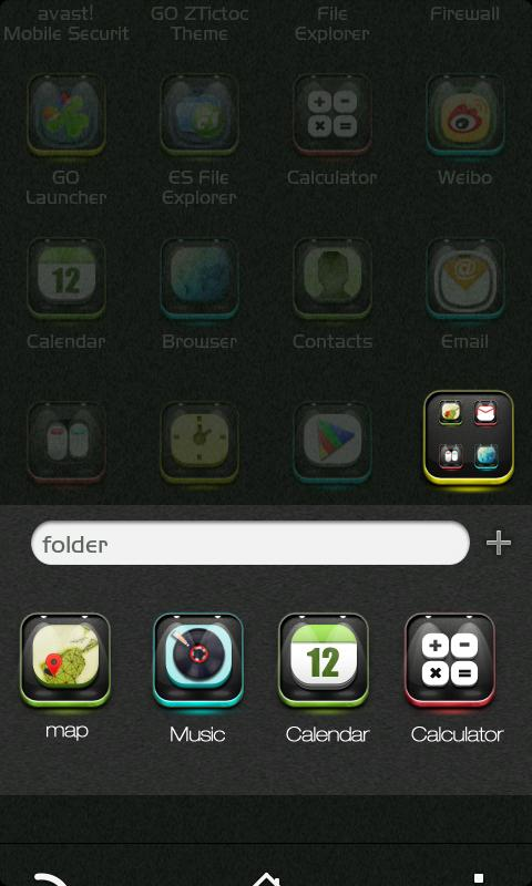 ZAlso GO Launcher Getjar Theme - screenshot