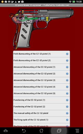 CZ-52 pistol explained