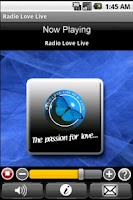 Screenshot of Radio Love Live