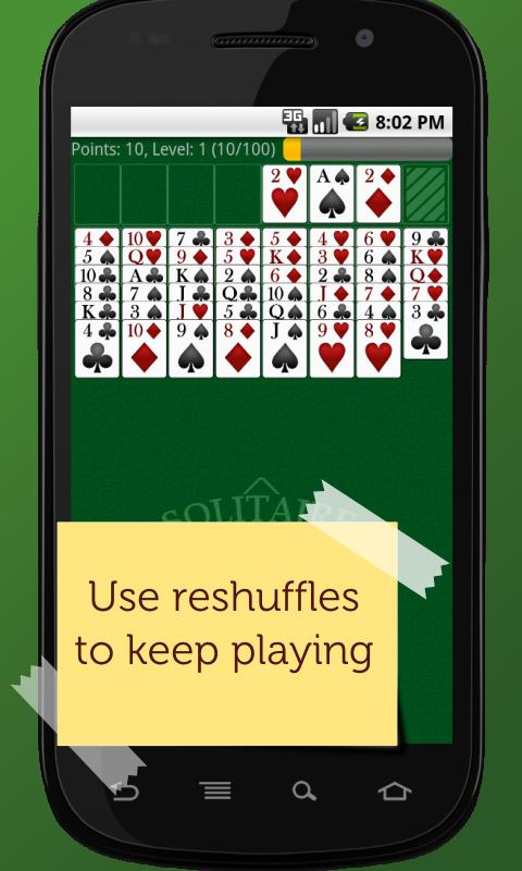 FreeCell Solitaire Champion- screenshot