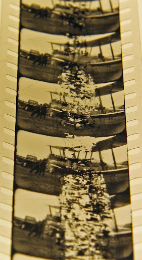 Film Strip Showing Nitrate Damage